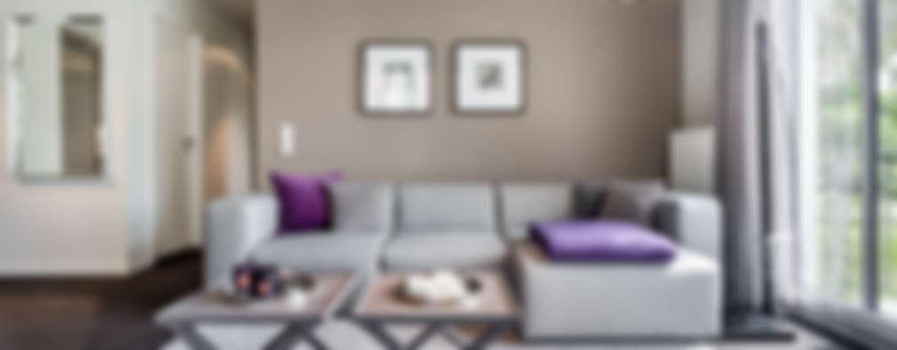 modern Living room by SALLIER WOHNEN HAMBURG