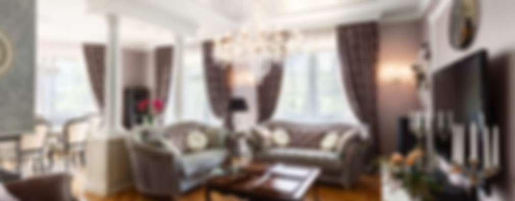 AGRAFFE design: klasik tarz tarz Oturma Odası