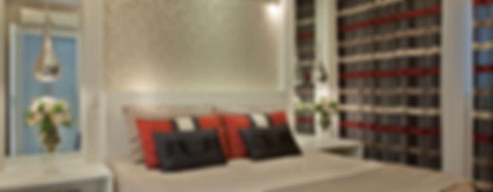 Dormitorios de estilo  por Designer de Interiores e Paisagista Iara Kílaris