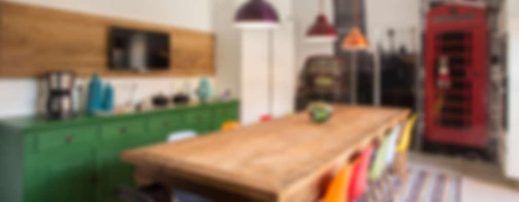 Cocinas de estilo rústico por Marcos Contrera Arquitetura & Interiores