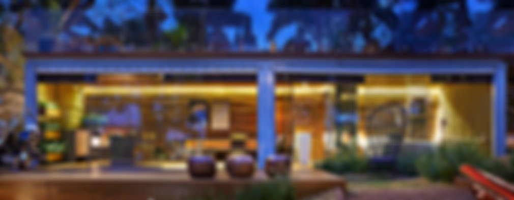 Casas de estilo rústico por Cristina Menezes Arquitetura