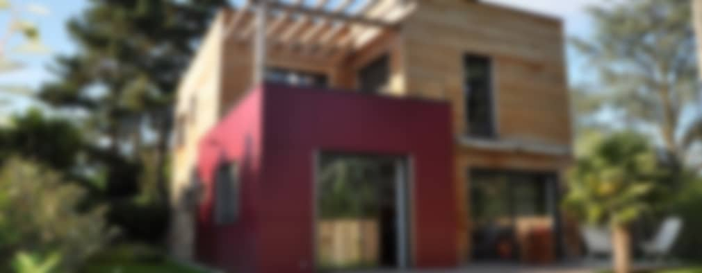 HELENE LAMBOLEY ARCHITECTE DPLG: modern tarz Evler