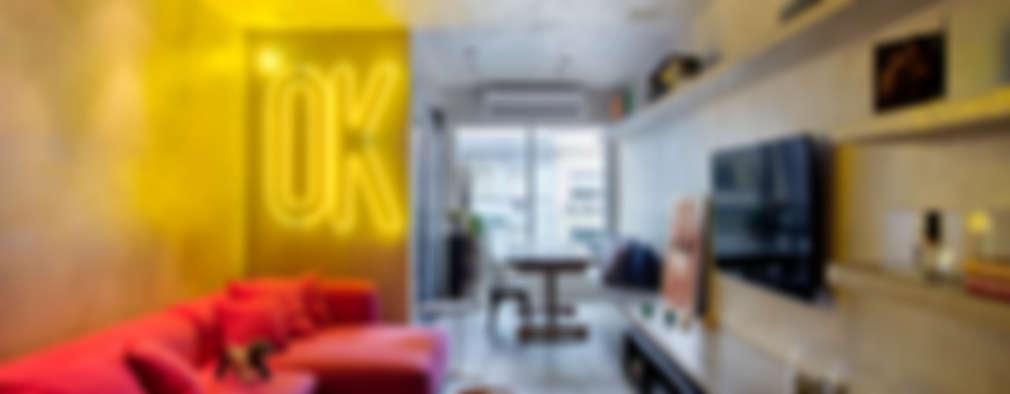غرفة المعيشة تنفيذ Studio ro+ca