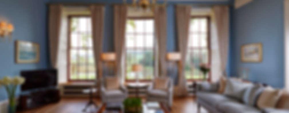 غرفة المعيشة تنفيذ Latham Interiors