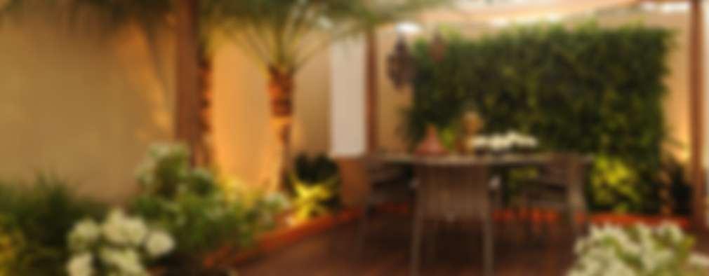 Jardin de style de style Rustique par Folha Paisagismo
