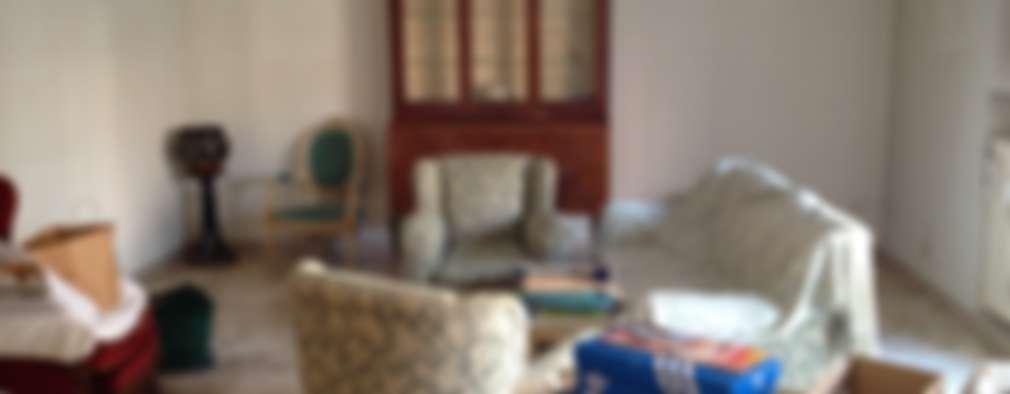 غرفة المعيشة تنفيذ Francesca Greco  - HOME Philosophy
