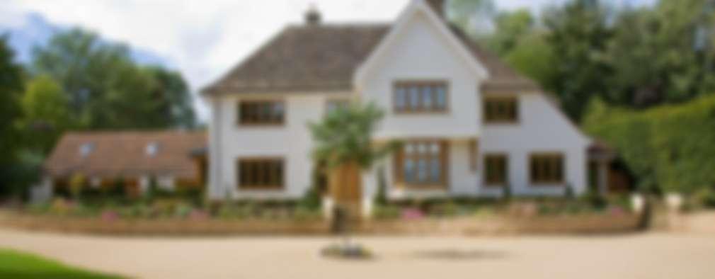 Projekty, wiejskie Domy zaprojektowane przez Wildblood Macdonald