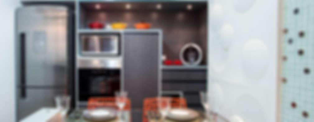 modern Kitchen by Amanda Pinheiro Design de interiores