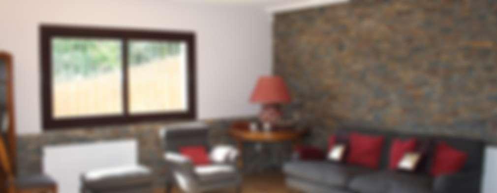 Rustikale Wohnzimmer Von ROIMO INTEGRAL GRUP