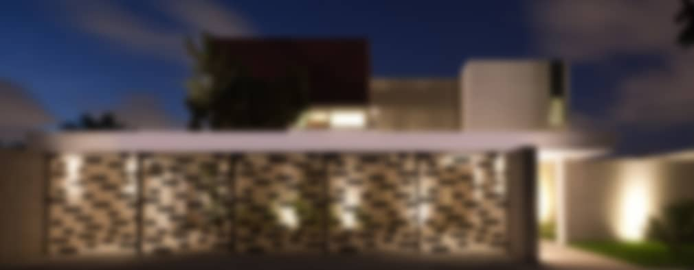 Casa Jabin.: Casas de estilo moderno por TAFF