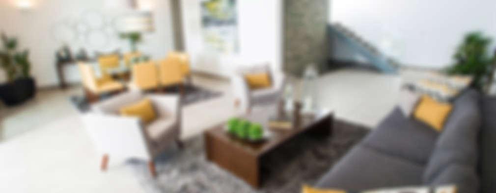 modern Living room by Ancona + Ancona Arquitectos