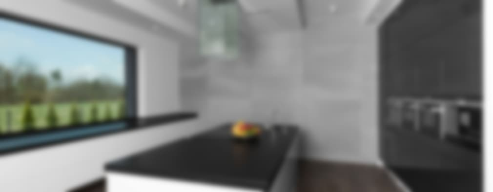 Wysoka jakość płyt: styl , w kategorii Kuchnia zaprojektowany przez Luxum