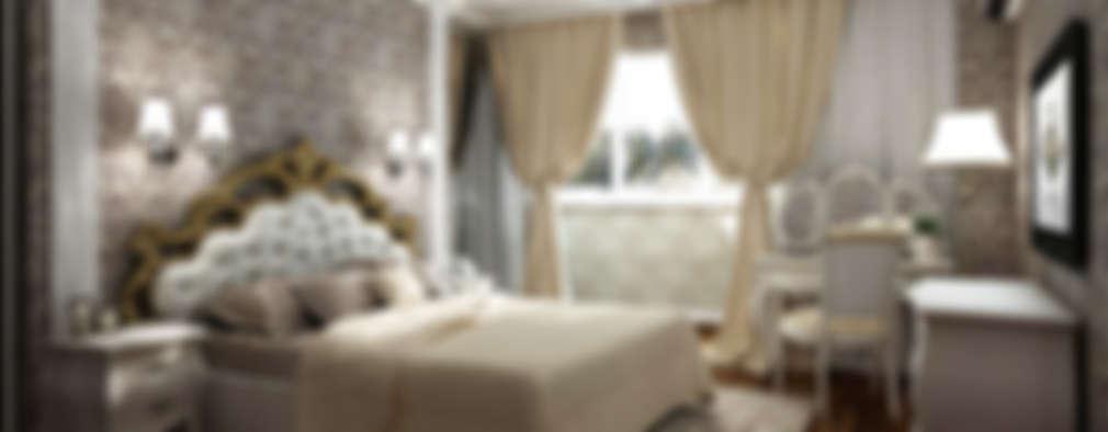 Елена Овсянникова: klasik tarz tarz Yatak Odası