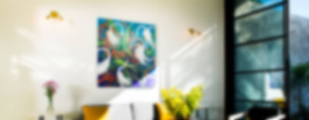 Casa FS55: Salas de estilo moderno por Taller Estilo Arquitectura