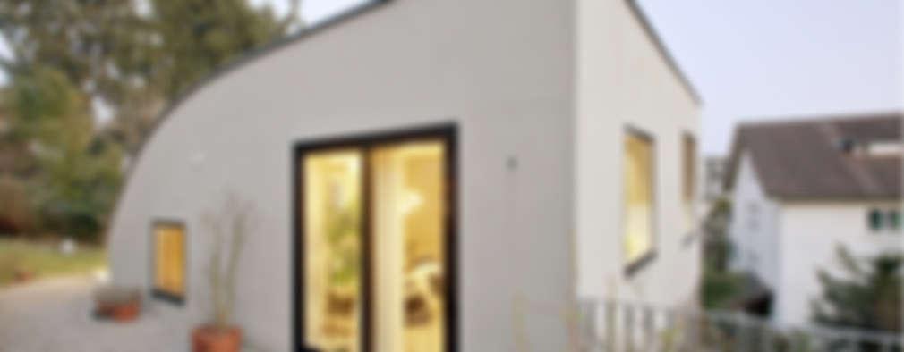Casas de estilo moderno por LENGACHER EMMENEGGER PARTNER AG