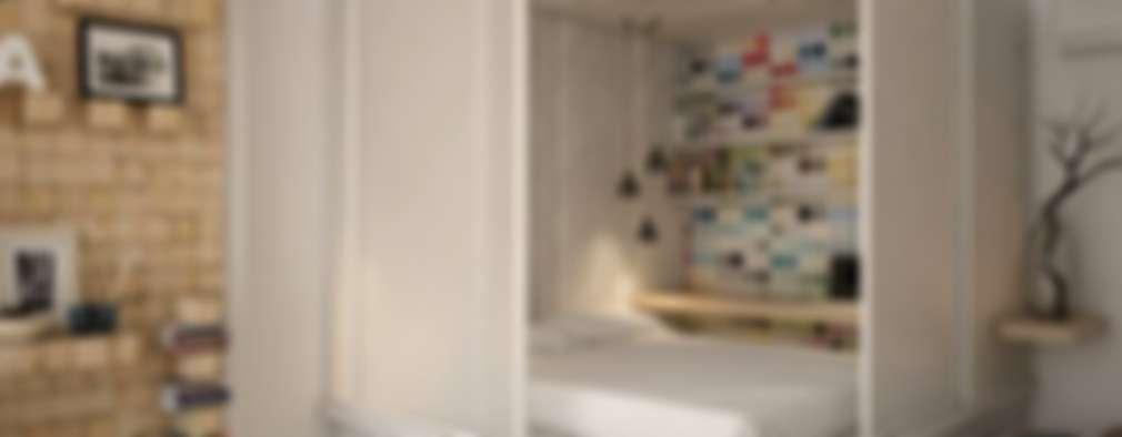 Projekty,  Sypialnia zaprojektowane przez YOUR PROJECT