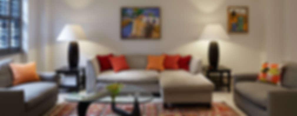 modern Living room by IS AND REN STUDIOS LTD
