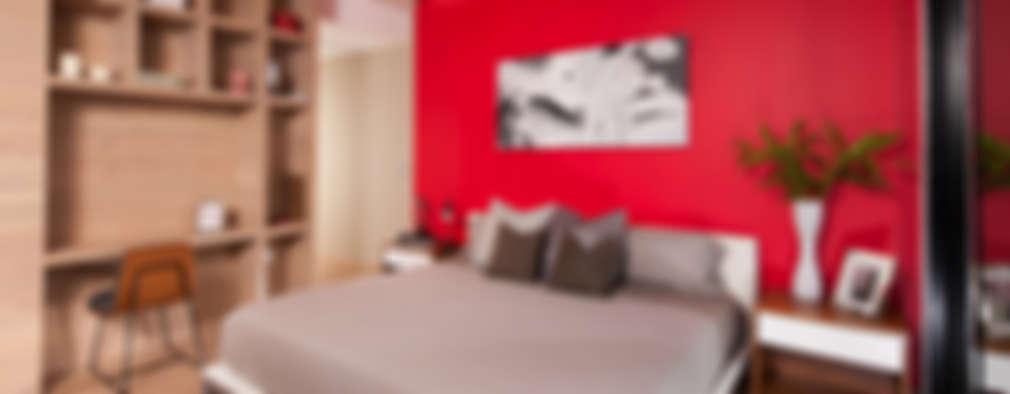 Dormitorios de estilo moderno por GLR Arquitectos