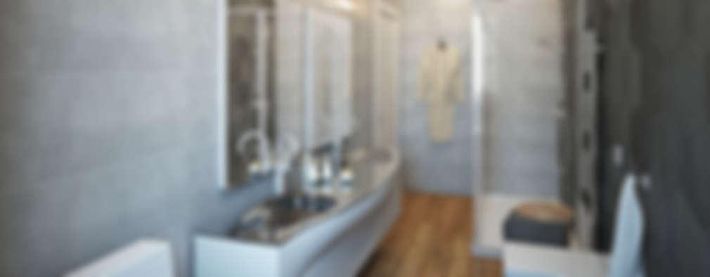 Baños de estilo  por Beniamino Faliti Architetto