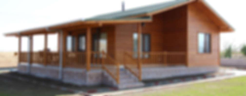 Casa de madera de un solo piso al alcance de todos for Cuanto sale hacer una piscina en chile