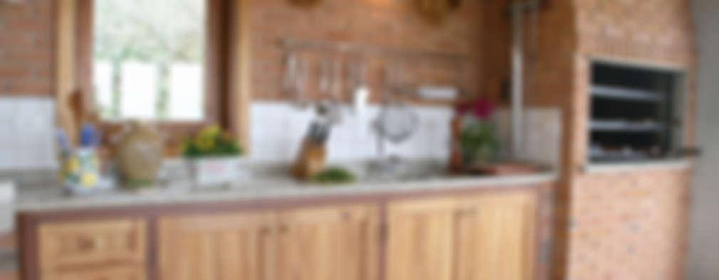 廚房 by Liliana Zenaro Interiores