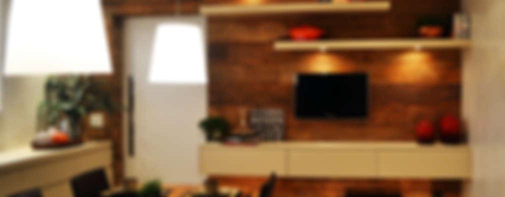 Cocinas de estilo rústico por Helô Marques Associados