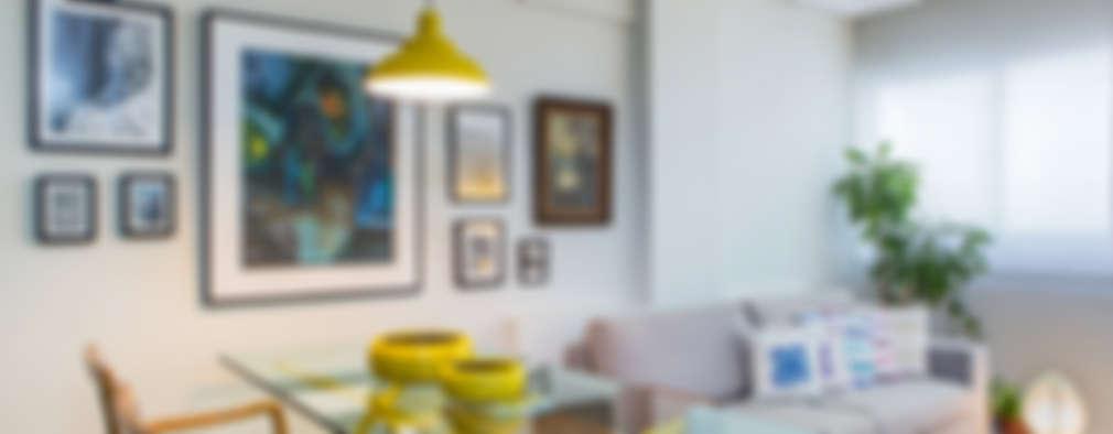 Comedores de estilo moderno por Milla Holtz Arquitetura
