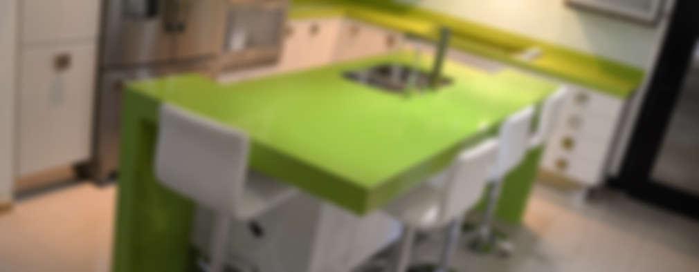 Mesas para cocina: diseños modernos