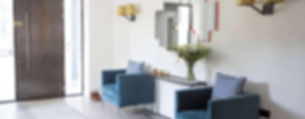 Corridor, hallway by Nice Brew Interior Design