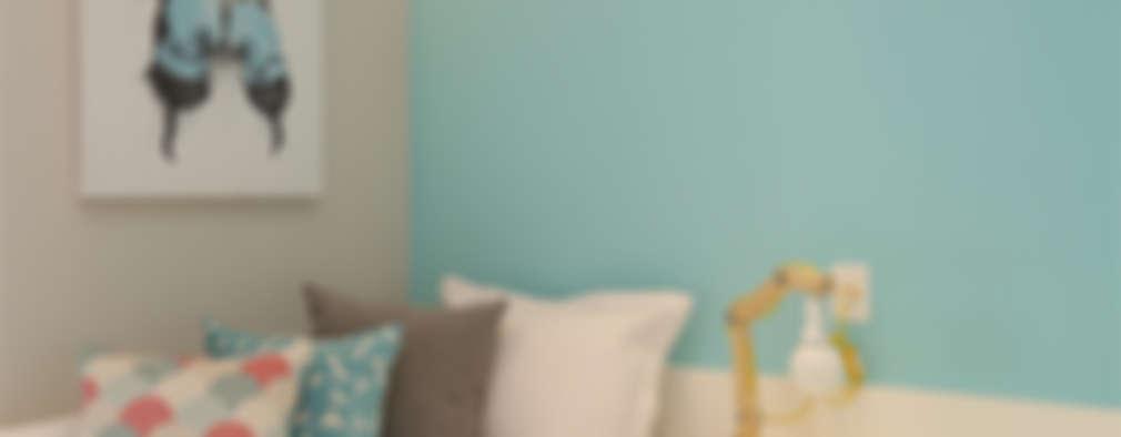 eclectic Bedroom by Duda Senna Arquitetura e Decoração