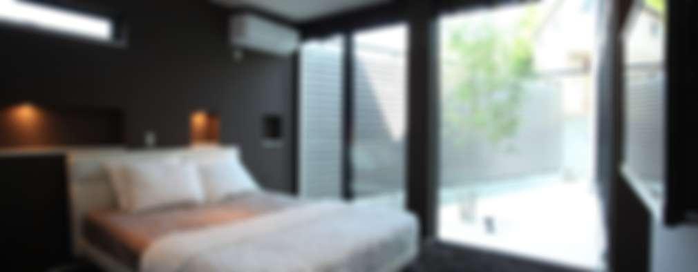 غرفة نوم تنفيذ TERAJIMA ARCHITECTS