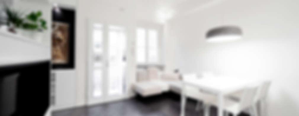 غرفة المعيشة تنفيذ 23bassi studio di architettura
