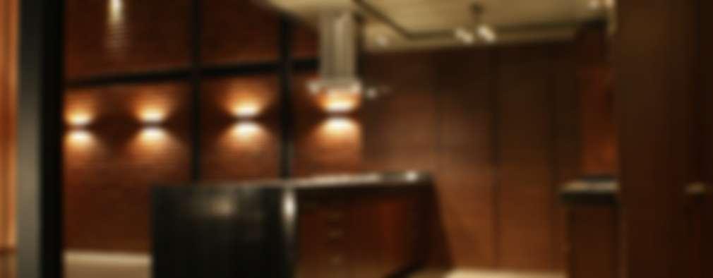 modern Kitchen by Taller Habitat Arquitectos