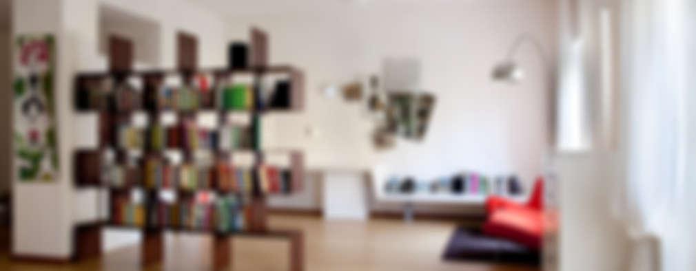 modern Living room by MAT architettura e design