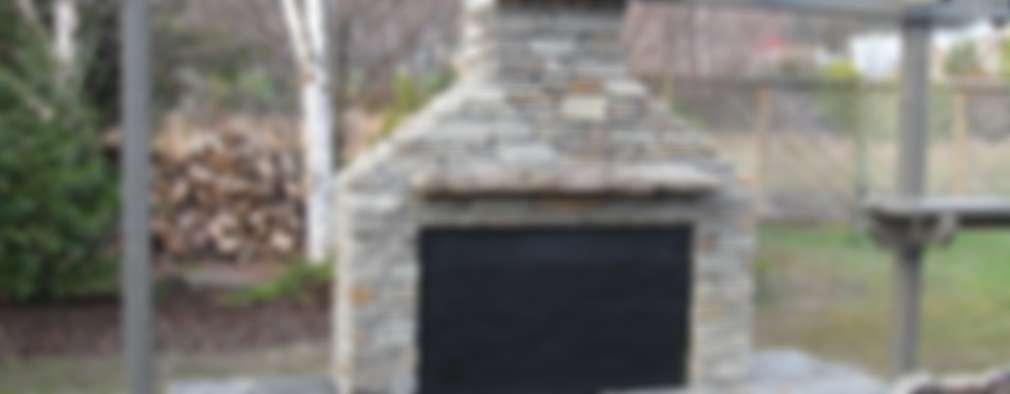16 grills und stein fen f r ein tolles barbecue. Black Bedroom Furniture Sets. Home Design Ideas