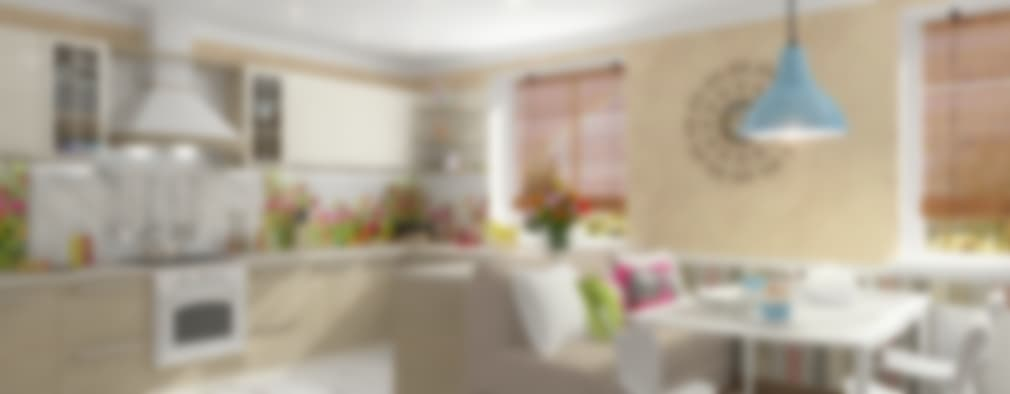 Divisione tra soggiorno e cucina - Quadri per sala da pranzo ...