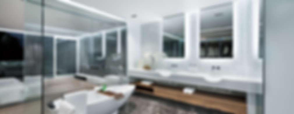 7 badkamers met bijzondere tegels