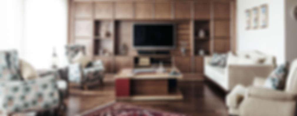 Bilgece Tasarım – Gül & Emin Timur: modern tarz Oturma Odası