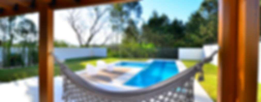 ELITE HOUSE: Terraços  por ARQ Ana Lore Burliga Miranda
