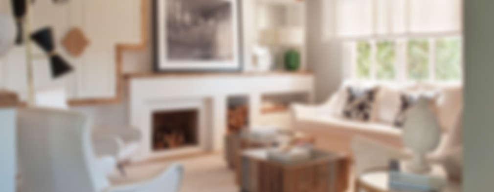 Salas de estilo ecléctico por BELEN FERRANDIZ INTERIOR DESIGN