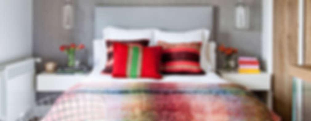 غرفة نوم تنفيذ BELEN FERRANDIZ INTERIOR DESIGN