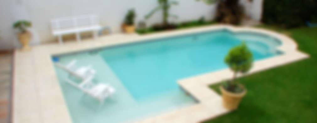 Piscinas familiares: Piletas de estilo moderno por Piscinas Scualo