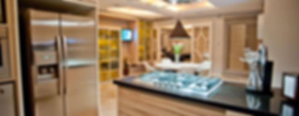 Cocinas de estilo moderno por Paulinho Peres Group