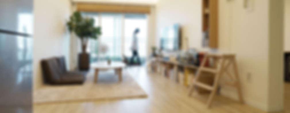 غرفة المعيشة تنفيذ IDÉEAA _ 이데아키텍츠