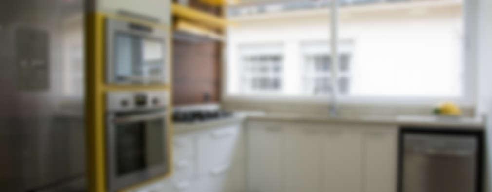 modern Kitchen by HAPPY Arquitetura