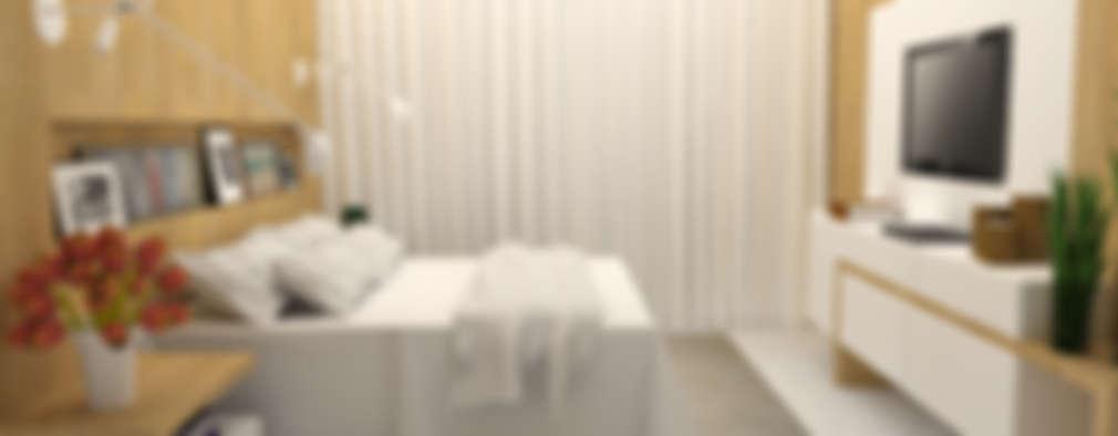 غرفة نوم تنفيذ Arquiteto Virtual - Projetos On lIne