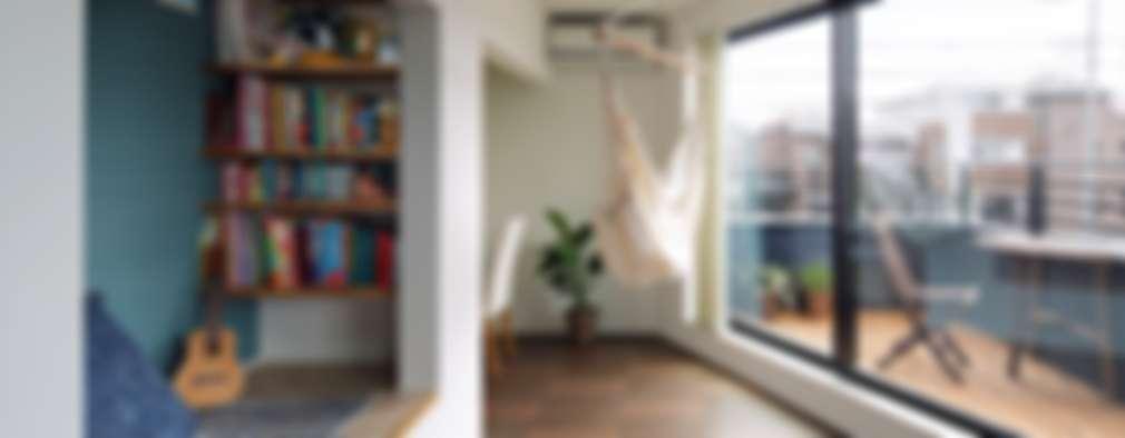 غرفة المعيشة تنفيذ 向山建築設計事務所