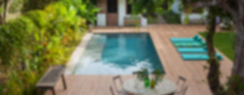 Jardines de estilo rústico por Vida de Vila