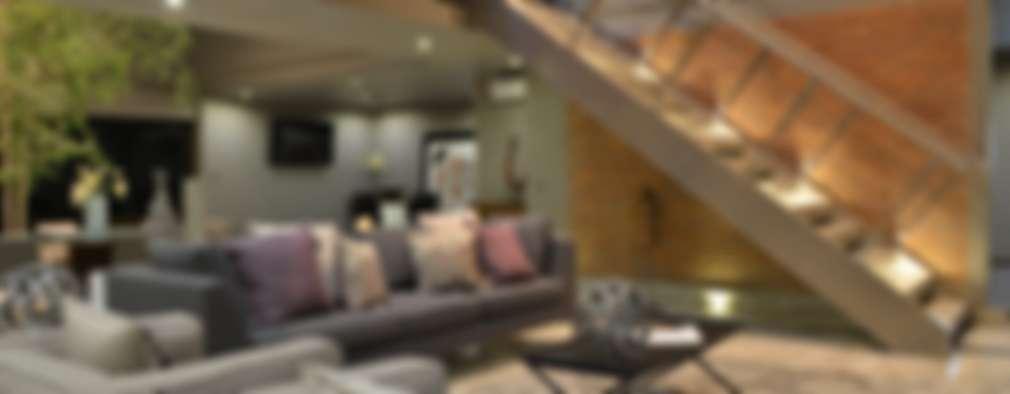 minimalistic Living room by Con Contenedores S.A. de C.V.