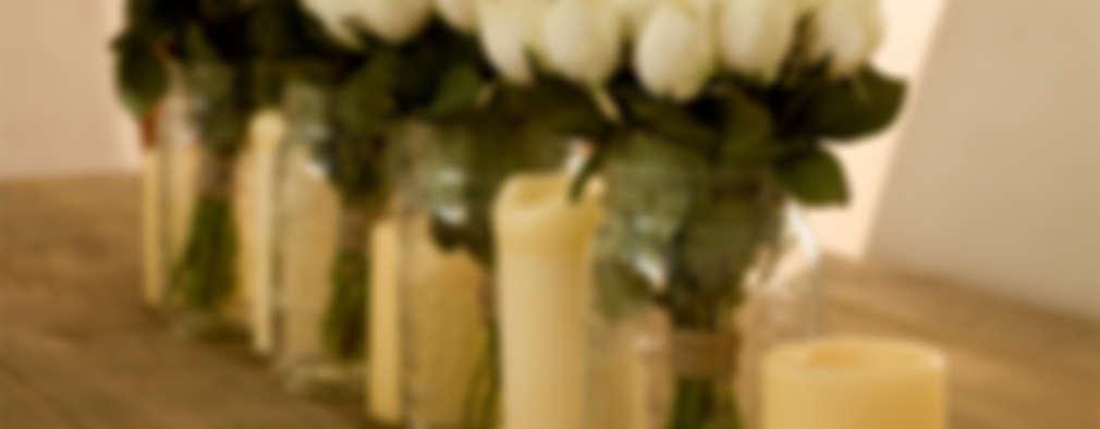 CASA CONDESA: Comedores de estilo rústico por Ploka 8.7
